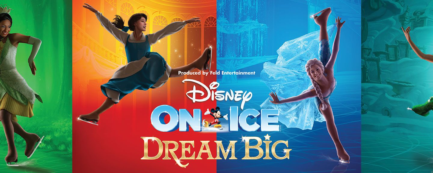 WIN Tickets to see Disney on Ice – Dream Big Tour in Johannesburg, Durban & Cape Town!