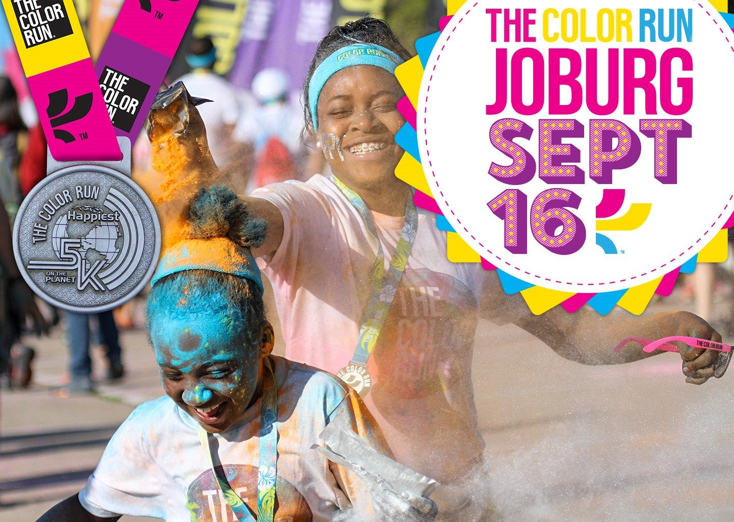 Enter to WIN 2 Adult + 2 Kids tickets and a selection of goodies for the @TheColorRunSA in Johannesburg!
