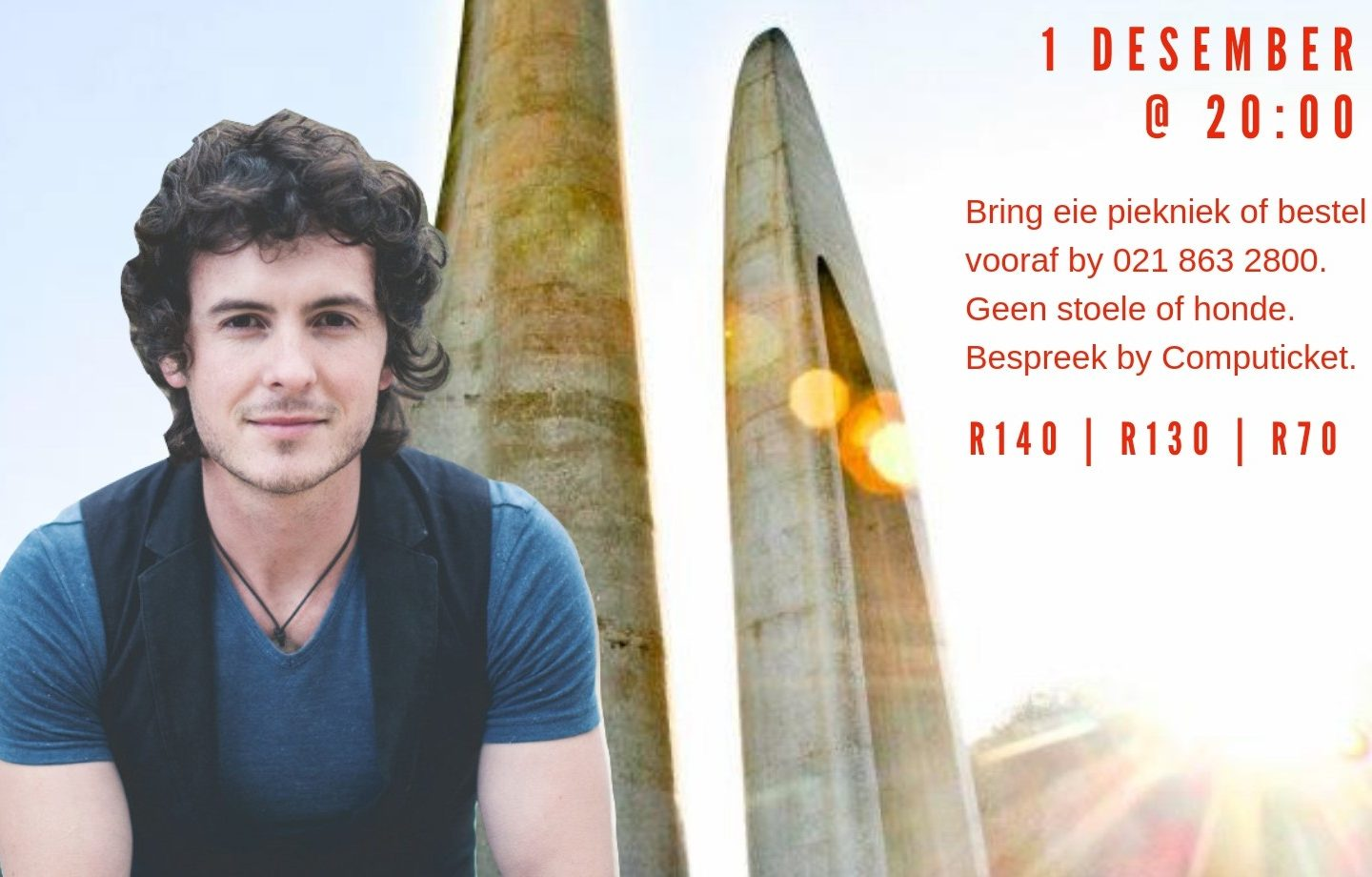 Enter to Win Family Tickets to Joshua na die Reen this December at Die Afrikaanse Taalmonument