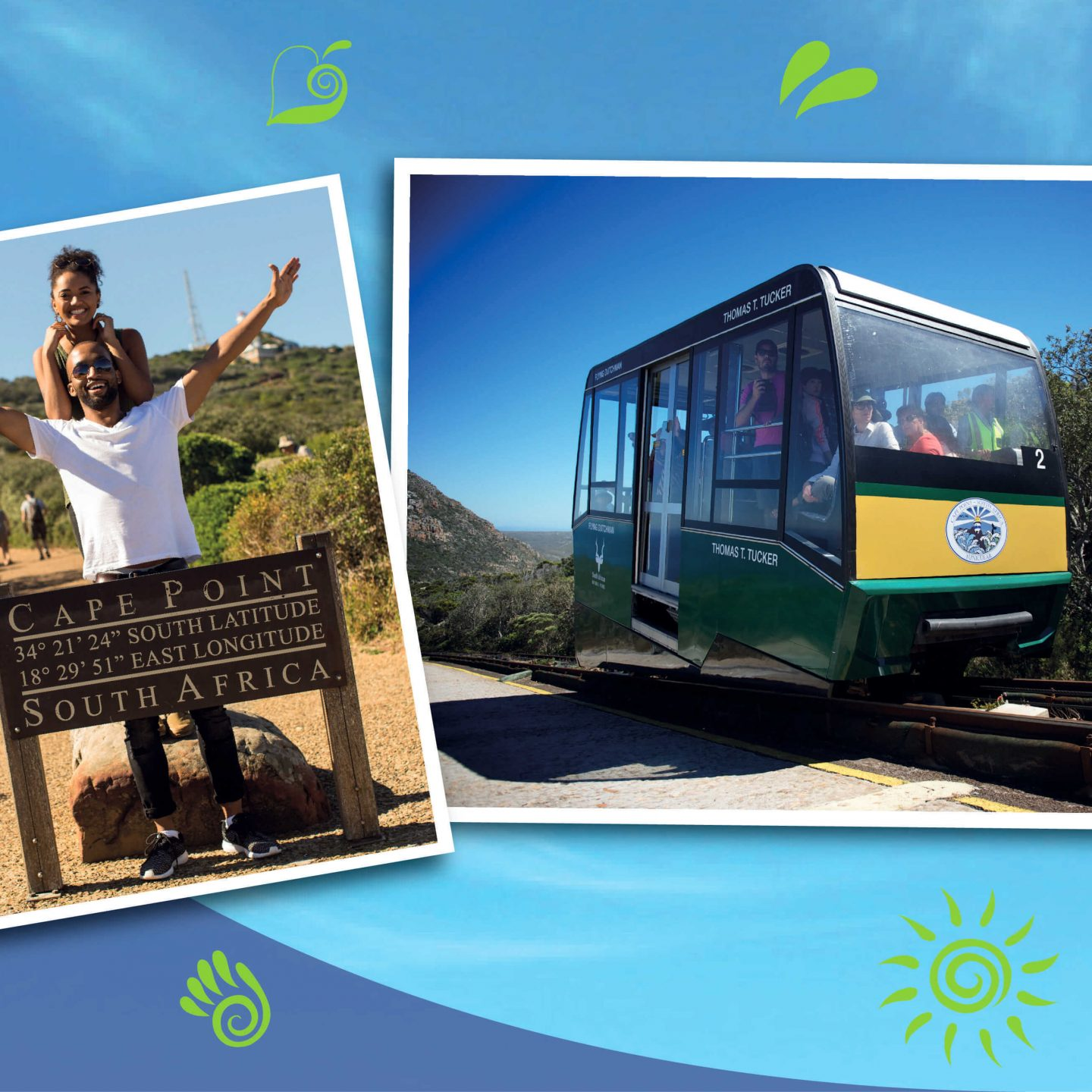 Enter to Win 2 x Entry Tickets, 2 x Funicular Tickets and a Hamper with @CapePointSA