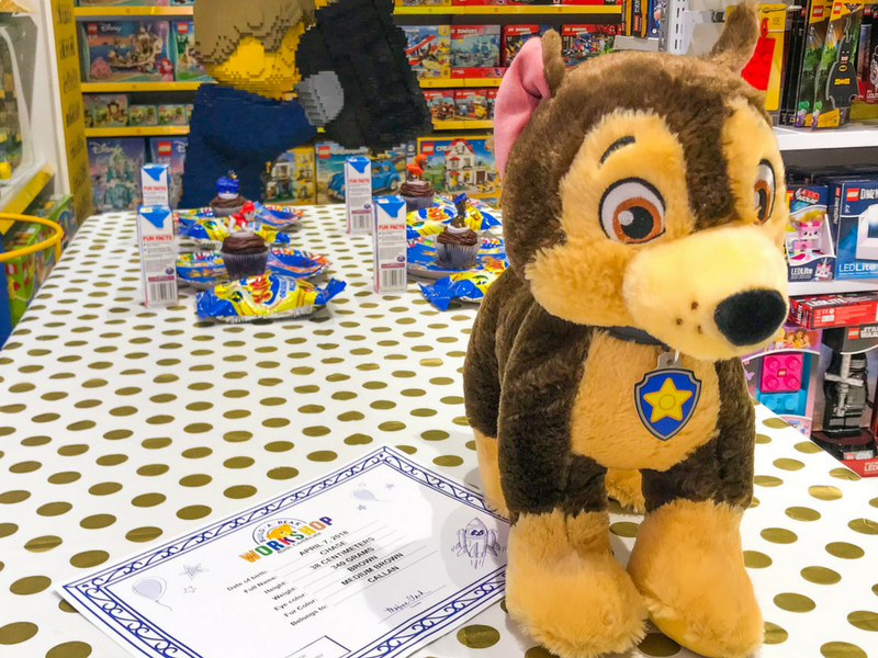 Win a Paw Patrol Build A Bear Workshop Experience!