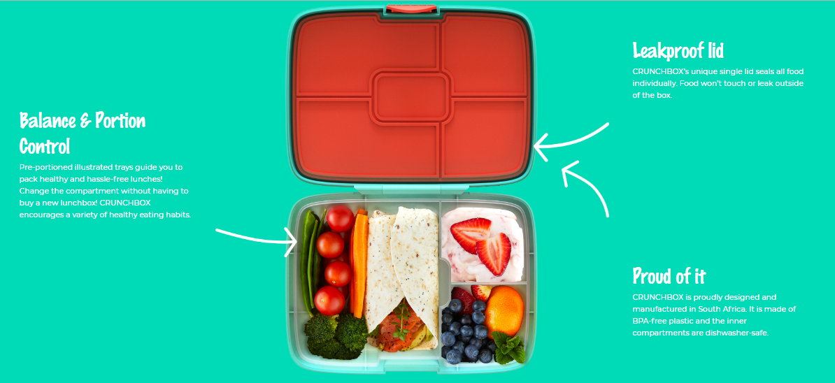Enter to win a super smart lunchbox from @mycrunchbox worth R350!