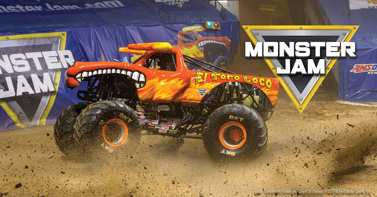 Win four x combined MONSTER JAMPit Party and Event family tickets at the Cape Town Stadium