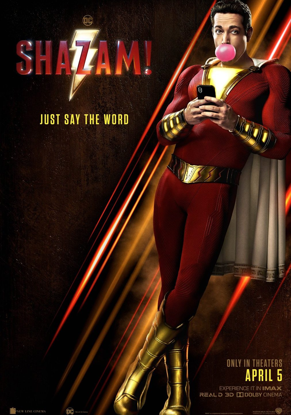Stand the chance to win 2 tickets to see Shazam!