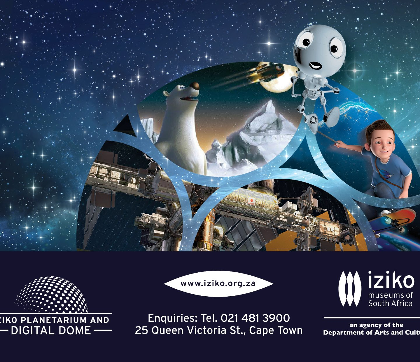 Enter to WIN 2 x tickets for the Iziko Planetarium and the AMAZING Digital Dome @Iziko_Museums