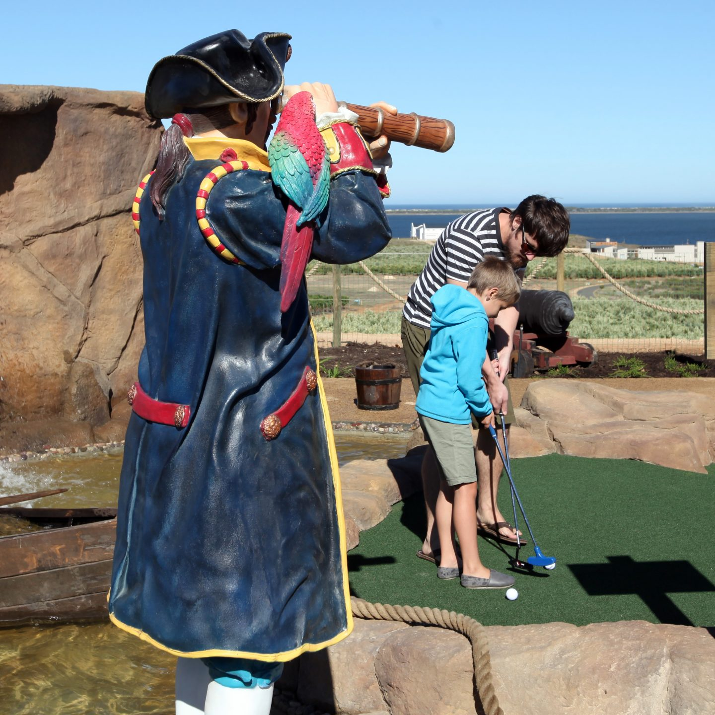 WIN a Family Day of FUN at Pirate Adventure Golf and Splash Pad @BenguelaCove