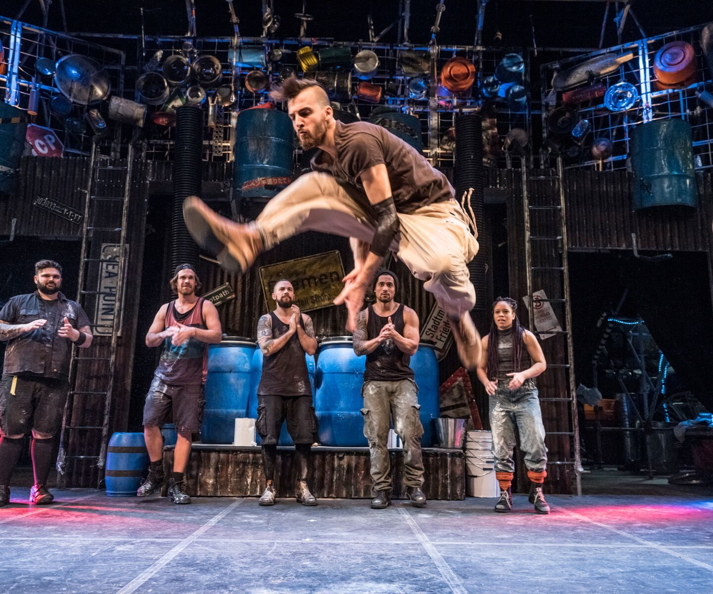 Enter to Win Tickets to see STOMP at Montecasino's Teatro, Johannesburg