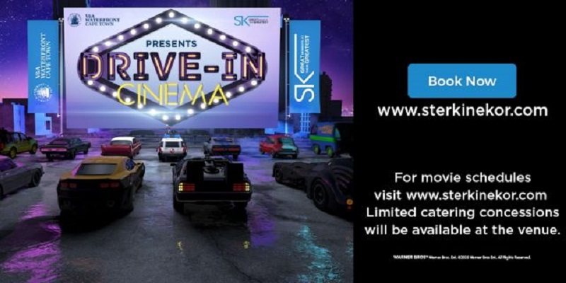 Win entry to the new Ster-Kinekor drive-in experience, in partnership with V&A Waterfront
