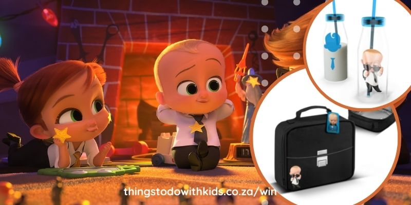 Win a #BossBaby lunchbox and water bottle